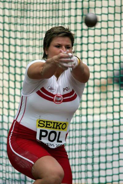 Kamila Skolimowska - Europe and Poland - women's Hammer winner in Athens (Getty Images)
