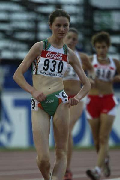 Ann Loughnane of Ireland - silver medallist (Getty Images)
