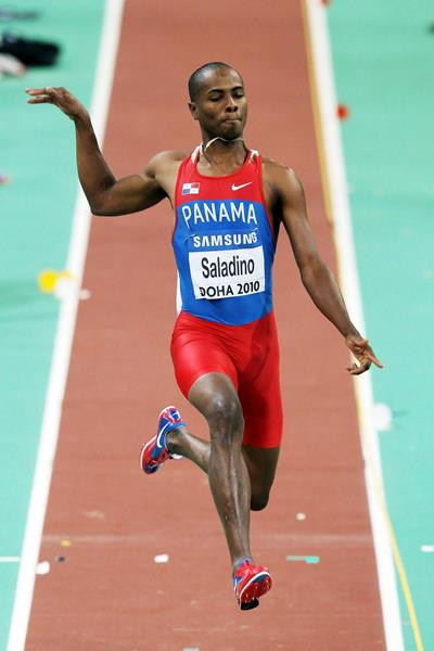 Panamanian long jumper Irving Saladino (Getty Images)