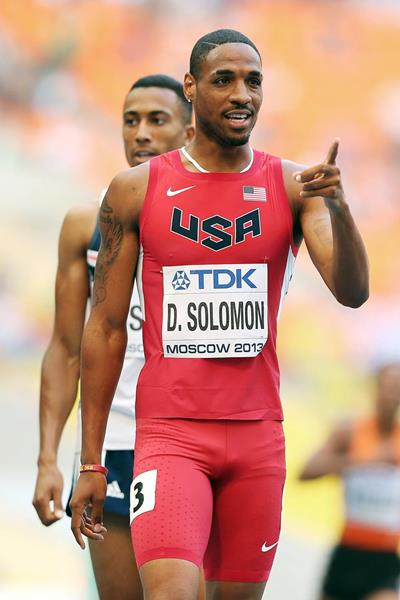 US 800m runner Duane Solomon (Getty Images)