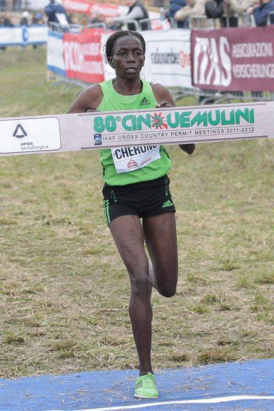 Priscah Jepleting Cherono takes the honors at the Cinque Mulini (Giancarlo Colombo/FIDAL)