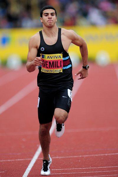 Adam Gemili at the UK Olympic Trials (Getty Images)