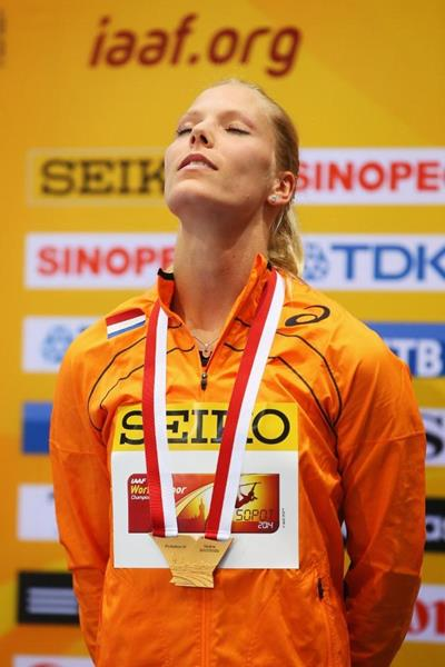 Nadine Broersen, the 2014 world indoor pentathlon champion (Getty Images)