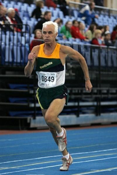 2010 WMA Best World Male Masters Athlete - Peter Crombie (AUS) M65 (WMA)