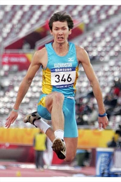 Roman Valiyev of Kazakhstan (AFP / Getty Images)