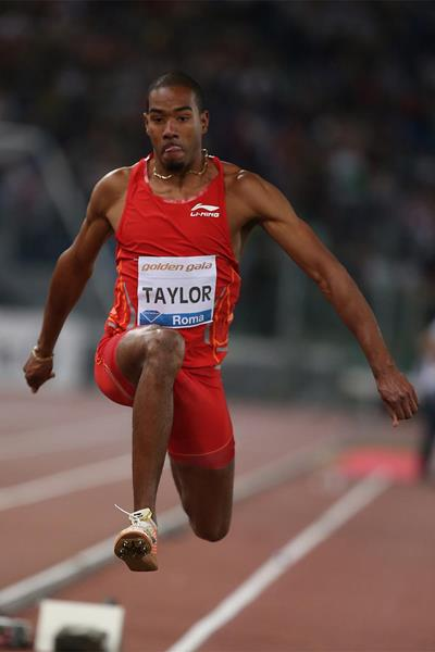 Christian Taylor, winner of the triple jump in Rome (Giancarlo Colombo)