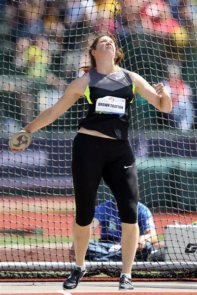 Stephanie Brown Trafton at the 2012 US Olympic Trials (Getty Images)