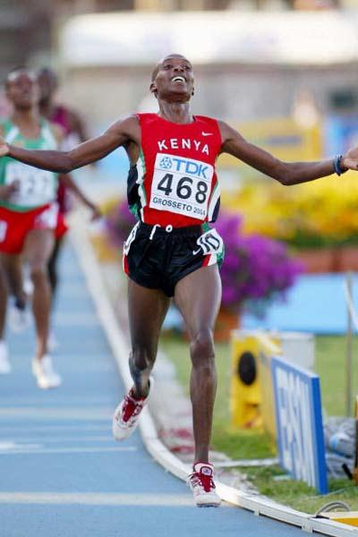 Augustine Kiprono Choge of Kenya wins the Men's 5000m Final (Getty Images)