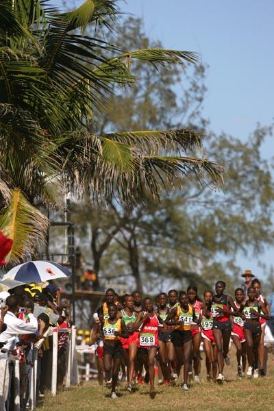 General view - Junior women's race in Mombasa (Getty Images)