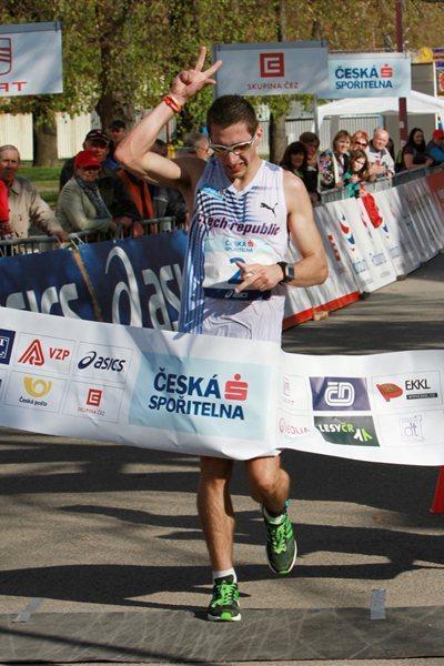 Karel Ketner takes the Czech title in Podebrady (Jan Kucharčík for atletika.cz)