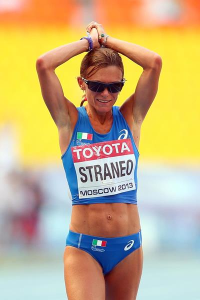 Italian distance runner Valeria Straneo (Getty Images)