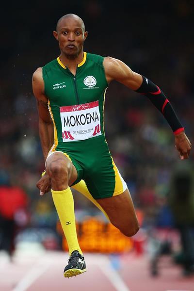 Godfrey Khotso Mokoena at the 2014 Commonwealth Games (Getty Images)