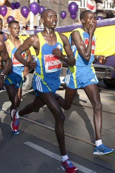 Nixon Machichim in Toronto (Scotiabank Toronto Waterfront Marathon organisers)