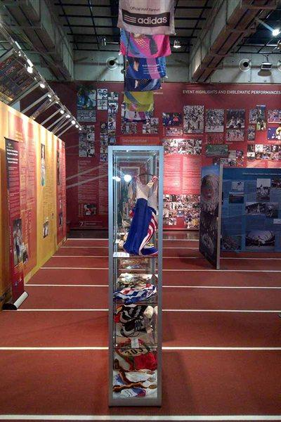 IAAF Centenary Historic Exhibition - end view (Chris Turner / IAAF)