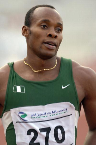Olusoji Fasuba in Algiers (AFP)
