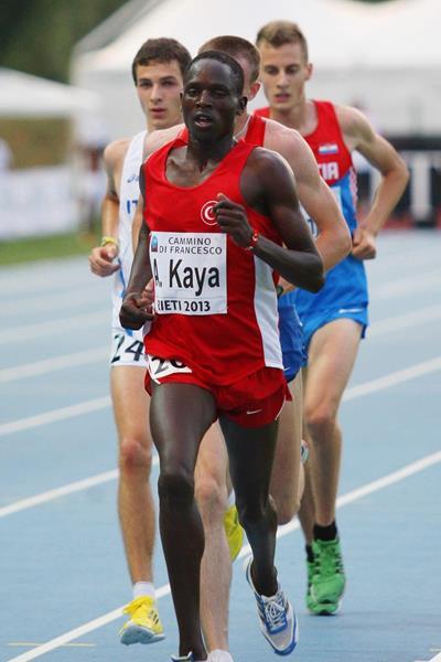 Ali Kaya at the 2013 European Athletics Junior Championships (Getty Images)