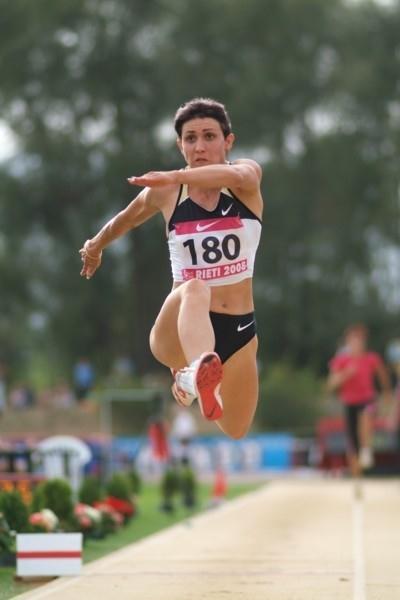 Tatyana Lebedeva in the Rieti Triple Jump (Lorenzo Sampaolo)