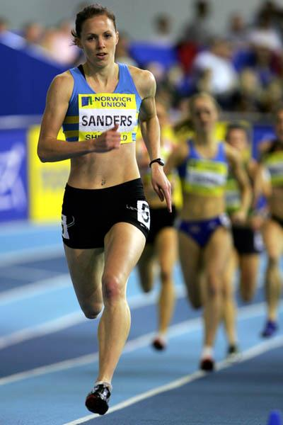 World-leading 50.60 for Nicola Sanders in Sheffield (Getty Images)