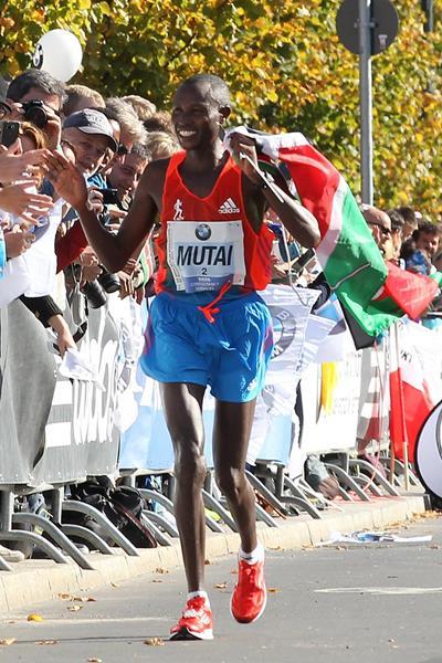 Kenyan distance runner Geoffrey Mutai (Getty Images)