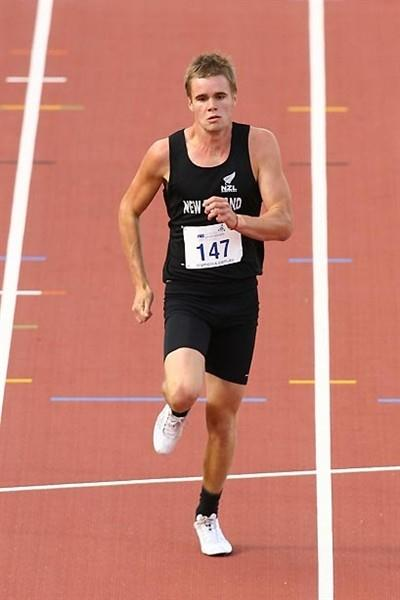 Alex Jordan (NZL) at the 2009 Australian Youth Olympic Festival (Getty Images)