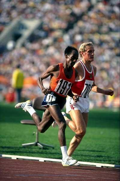 Ethiopia's Miruts Yifter running in the 1980 Moscow Olympics (Getty images)
