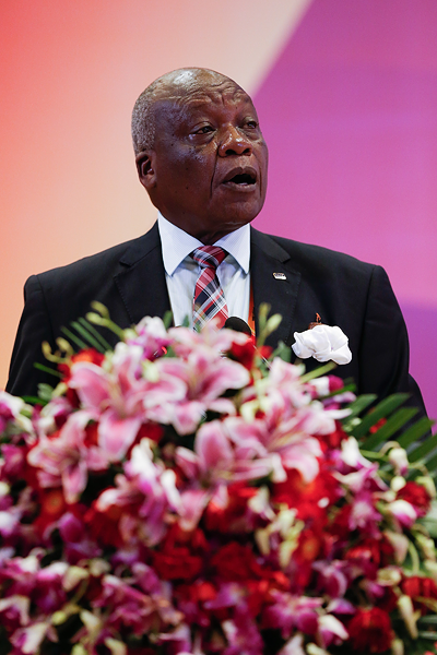 IAAF Council member David Okeyo (Getty Images)