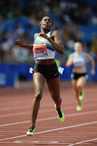 Perri Shakes-Drayton wins the 400m Hurdles at the British Championships (Getty Images)