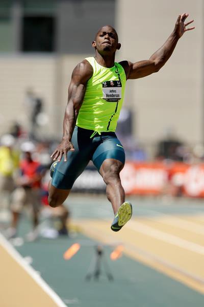US long jumper Jeff Henderson (Getty Images)