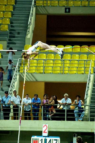 Feofanova clears 4.88 in Heraklion (Serafim Tracharis)