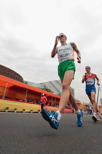 Jared Tallent in action at the 2014 IAAF World Race Walking Cup in Taicang (Getty Images)