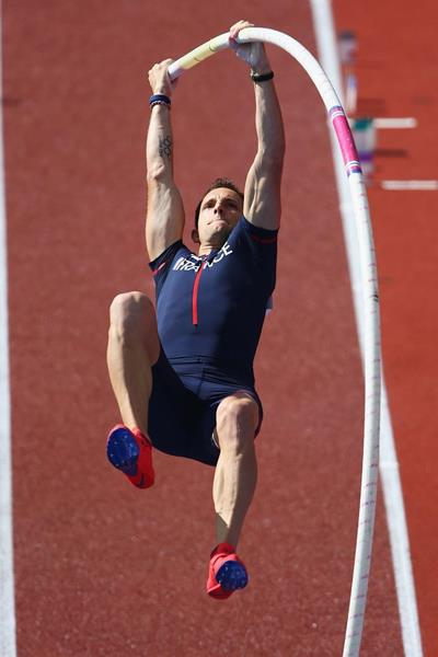 Renaud Lavillenie at the 2014 European Athletics Championships (Getty Images)