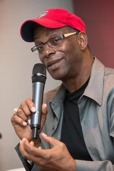 Bob Beamon in Barcelona (Philippe Fitte)