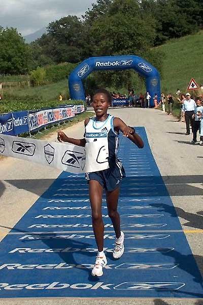 Kenya's Alice Chelangat wins in Amatrice-Configno (Zorzi)
