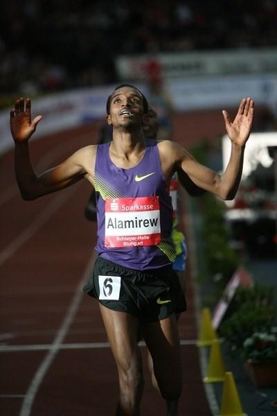 Yenew Alamirew wins the 3000m in Stuttgart (organisers)