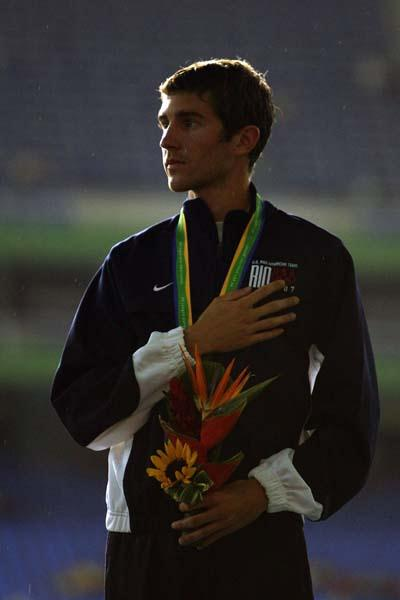 Ed Moran - winner of the 5000m at the Pan Am Games (Getty Images)