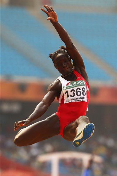Margaret Simpson of Ghana (Getty Images)