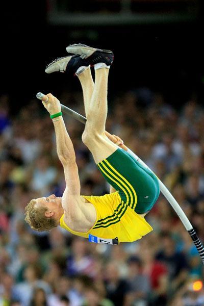Steve Hooker - Pole Vault gold - Melbourne 2006 (Getty Images)