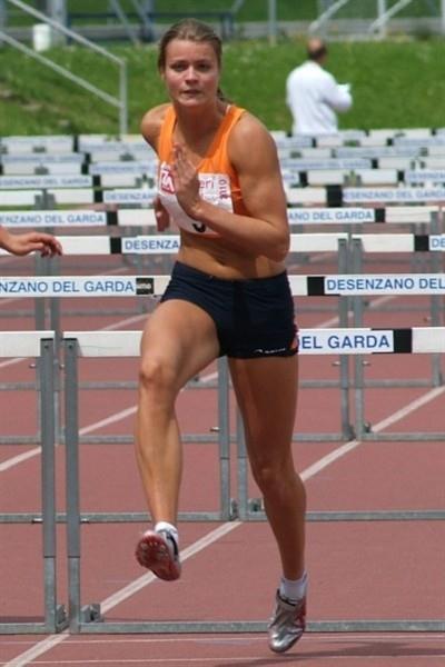 Dutchwoman Dafne Schippers the surprise day 1 leader in Desenzano del Garda (Lorenzo Sampaolo)