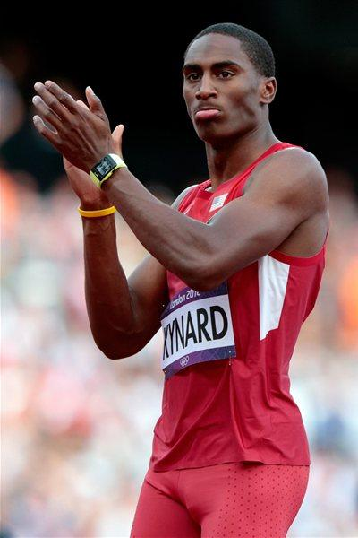 Erik Kynard of the United States competes in the Men's High Jump Qualification on Day 9 of the London 2012 Olympic Games at the Olympic Stadium on August 5, 2012  (Getty Images)
