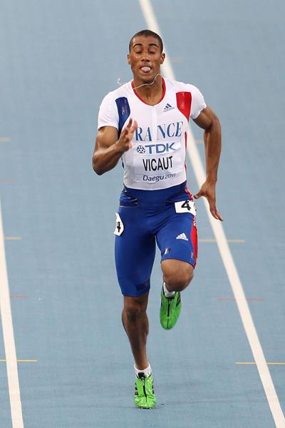 French sprinter Jimmy Vicaut (Getty Images)