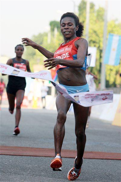 Wude Ayalew wins in Delhi (organisers)