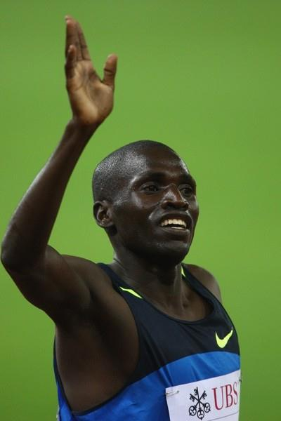 Paul Kipsiele Koech of Kenya wins the steeplechase (Getty Images)