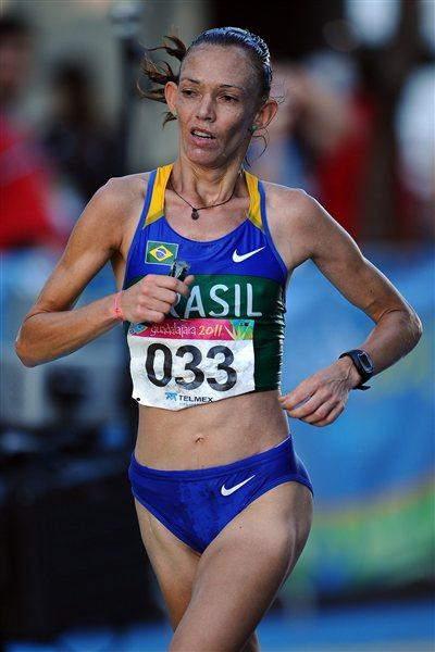 Adriana da Silva beats the Guadalajara heat and altitude to take the Pan American Marathon title (Getty Images)