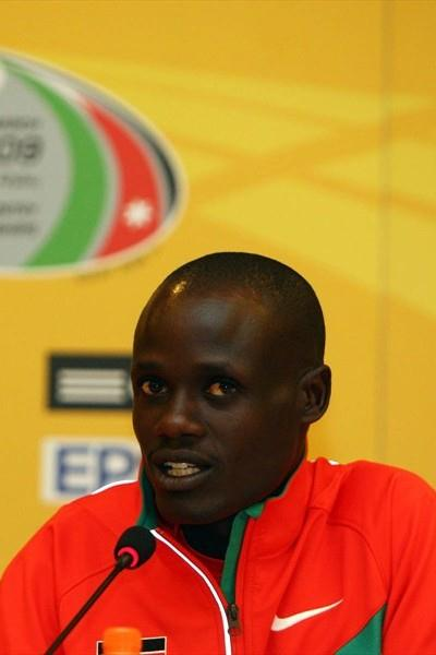 Mark Kiptoo of Kenya at the LOC press conference in Amman (Getty Images)