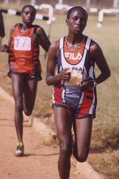 Alice Timbilill at the High School Rift Valley Championships (David Macharia)