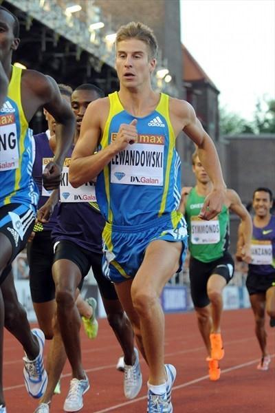 Marcin Lewandowski en route to his victory in Stockholm (Deca Text&Bild)