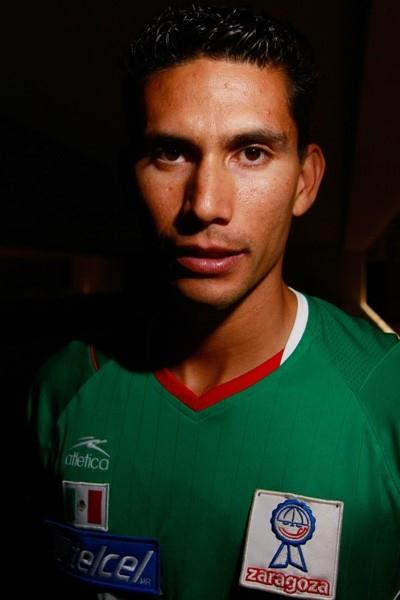 Horacio Nava of Mexico at the press conference in Chihuahua 2010 (Getty Images)