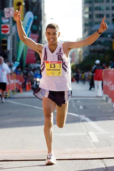 Abderrahime Bouramdane, winner of the 2006 Scotiabank Toronto Marathon (Organisers)