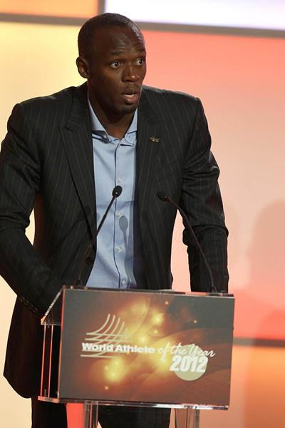 Usain Bolt - 2012 World Athlete of the Year (Giancarlo Colombo)
