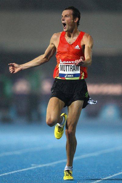 Craig Mottram wins the 2012 Qantas Melbourne Track Classic (Getty Images)